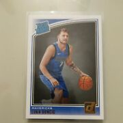 Sweet Mint 2018-19 Luka Doncic Donruss Rated Rookie Beautiful Card