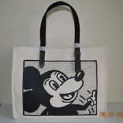 Coach Nwt Mickey Mouse Tote 42