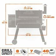 Grills Tfb88pzbo Pro Series 34 Pellet Grill And Smoker, 884 Sq. In. Cook