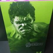 Hot Toys The Avengers Hulk 1/6 Scale Action Figure Marvel Comic Book Heros W/box