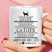 Game Of Thr0nes Crazy Cat Lady Of Mouser Mug Best Gift For Friends And Family