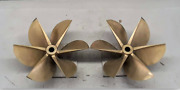 New Arneson Surface Drive Propellers-set Of 2 Spares Never Used