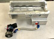 New Ford Windsor Aluminum Front Sump Oil Pan And 1 Stage Oil Pump