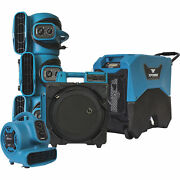Xpower 6pc Water Contractor Pack 4 Air Movers/air Scrubber/lgr Dehumidifier