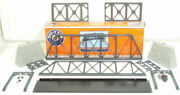 Lionel 6-12772 Truss Bridge With Flasher And Piers Ex/box