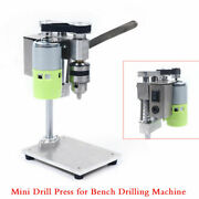 Mini Drill Press Bench Small Electric Drill Machine Work Bench 110-240v From Us