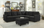 7 Pcs Simple Modern Fabric Sofa Assembly Removable Washable Corner