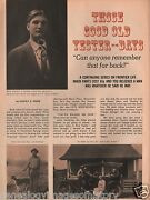 Harry E. Webb - Those Good Old Yester-days In New Castle, Colorado