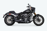 Freedom Turnout 2-1 Pitch Black Series For M8 Softail Hd00812