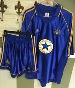 Adidas New Castle Soccer Jersey Xl And Shorts Med Set