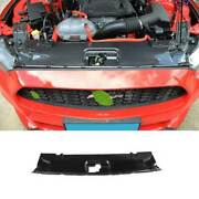 Dry Carbon Fiber Engine Hood Water Tank Cover 1pcs For Ford Mustang 2015-2021