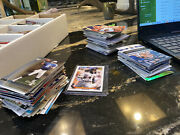 Huge Card Collection. Cards Ranging From 1980s-2010. Baseball Basketball Footbal