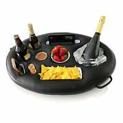 Premium Floating Drink Holder For Pools And Hot Tub Andndash Beach And Outdoor Cup