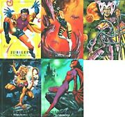 Marvel Masterpieces 1992 Series 1 Set With Foil Set 5,lost Set 5, And Tin