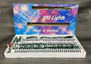 Vintage Foremost Industries Music In Motion 16 Christmas Songs 100 Lights Rare