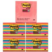450ct/2250ct Count Post-it Notes 3x3 Super Sticky Notepad Bright Colors Office