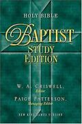 Holy Bible - Baptist Study Edition Celebrate Your Heritage ,