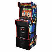 Mortal Kombat 2 Midway Legacy Light Up Marquee And Riser [brand New]
