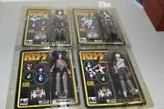 Kiss Signed/autographed 8 Inch Action Figures Gene Paul Tommy Eric