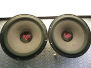 Old School Cerwin-vega Stealth S-12.4 Subwoofer. 4ohm Tested Used.