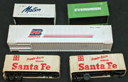 Walthers And Tyco Truck Trailers And Containers , Lot Of 5. Vintage Ho Scale