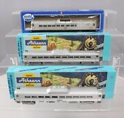 Athearn And Model Power Ho Scale Bando And Reading Rdc Budd Cars [3]/box