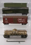 O Scale 2-rail Freight Cars And Tank Car [4]