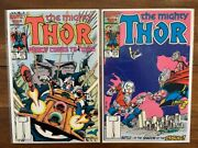 Thor 371 And 372 High Grade First Appearance Key Comic Books