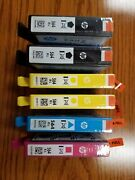 Hp564xl High Yield Black And Tri Color Cartridges 6 Pieces
