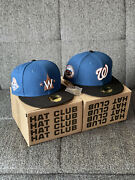 Hat Club Exclusive Washington Nationals Nba And Nhl Crossover 7 Discontinued Rare