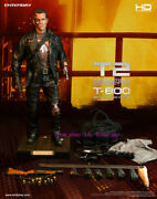 Enterbay Hd-1013 Terminator 2 Judgment Day 1/4 T-800 Action Figure New Stock