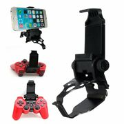 Adjustable Cell Phone Clip Holder Game Clamp Stand Mount For Ps3 Controller