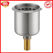 Stainless Steel Dipper Well Sink Bowl Ice Cream Shop Snack Bar Essential Part