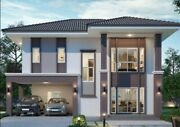 Custom Modern House Home Building 3 Bedroom 3 Bathroom Plans And Garage And Cad File