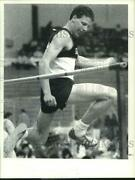 Press Photo Shawn Cassidy Attempts High Jump At Track Meet In Troy, New York