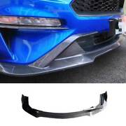 Replace Carbon Fiber Front Lip Spoiler Bodykit Refit For Ford Mustang 2018-2021
