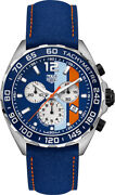 New Tag Heuer Formula 1 Gulf Racing Limited Edition Menand039s Watch Caz101n.fc8243