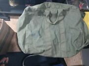 Us Military Flyers Kit Bag Large Canvas Duffle..4-87. 8460-00-606-8366