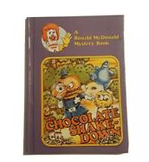 Collectable Vintage Mcdonalds Books The Chocolate Shake-down Used Condition