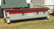 American Model Builders 888 Ho New York Central Wood Cupola Caboose Kit