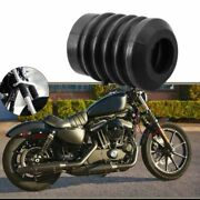 Rear Brake Pump Gator Boot Anti Dust Cover Rubber For Harley Softail Fatboy