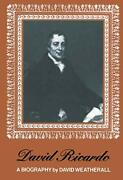 David Ricardo A Biography By Weatherall New 9789401014038 Fast Free Shipping..