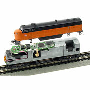 Mrc 1660 N Dcc Decoder With Sound - Snap-in Fits Life-like C-liner