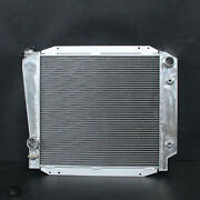 Aluminum Radiator Fit Ford Bronco Base Wagon Roadster 66-77 3row At Mt 522