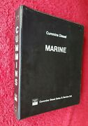 Cummins Marine Diesel Sales Service Parts Factory Catalogue Must See This
