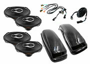 2 Sx690neo And Replacement Speaker Bag Lid Package For 2014-2021 Harley Davidson