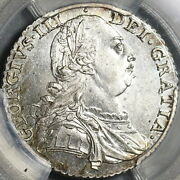 1787 Pcgs Ms 63 George Iii Shilling Great Britain Silver Coin 21062002d