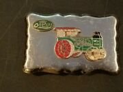 Vintage Rumely Oil Pull Tractor Belt Buckle Le Porte Indiana