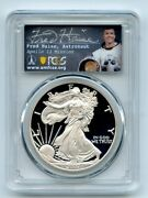 2007 W 1 Proof American Silver Eagle Pcgs Pr70dcam Fred Haise