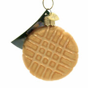 Old World Christmas Peanut Butter Cookie Ornament Girl Scout Pastry 32410